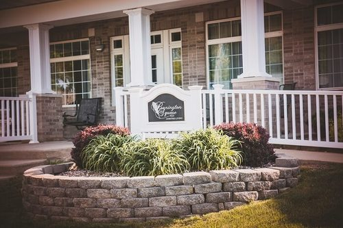 Pennington Square Assisted Living entrance.